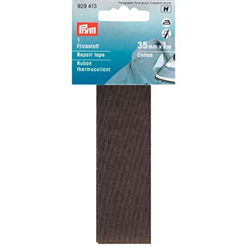 Prym 3,5x 100cm/0,035M² Baumwolle Reparatur-Klebeband, grau