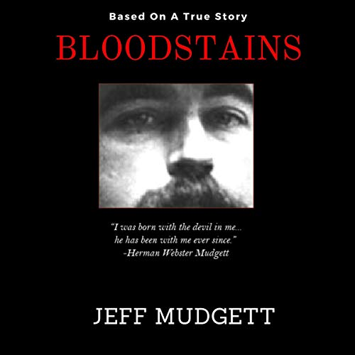 Bloodstains audiobook cover art