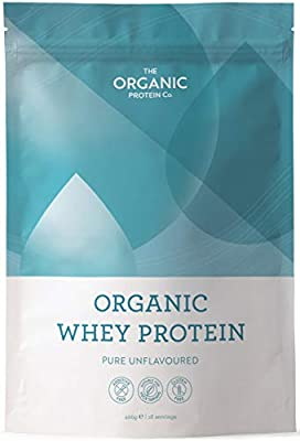 Organic Whey Protein - Grass Fed, Additive Free & Gluten Free (400g) from The Organic Protein Company