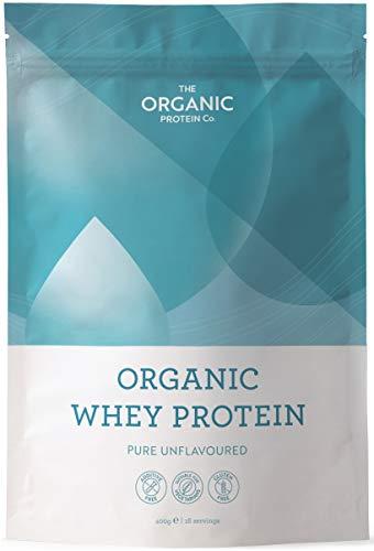 Organic Whey Protein Powder - Grass Fed, No Additives, No Gluten (400 grams)
