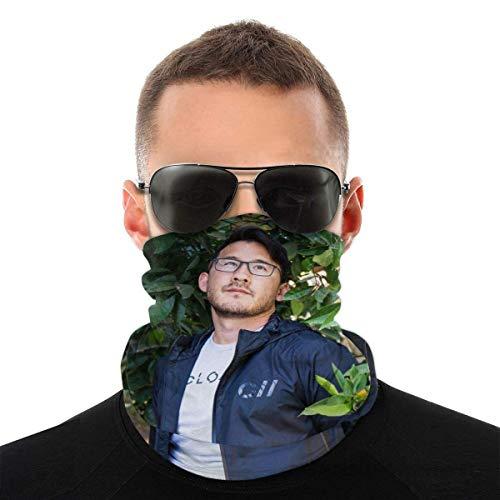BaoBei-shop Mar-kiplier Nahtlose Bandana Gesichtsschal Hals Gamasche Rave Gesichtsschutz Kopfbedeckung Tube Dust Gesichtsgesichtsabdeckung Stirnband Sturmhaube Für Männer Frauen-A6M