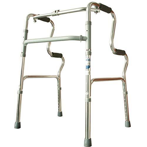 LXDDJZXQ Andador para Ancianos Walker, Ayuda de Movilidad for Personas Mayores con Movilidad Reducida for obstáculo Obstáculo Equipo Auxiliar for Personas Mayores y discapacitadas Altamente Ajustable