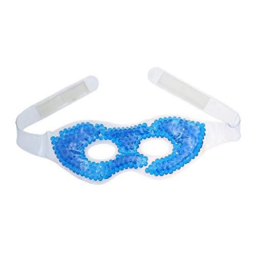 CUHAWUDBA Hei? Kalt Schlaf Augen Maske Eis Kalt Blau Compress Gel Ermüdung der Augen Linderung Augen Pflege Entspannung Entfernen Dunkler Kreis Schlaf Augen Maske