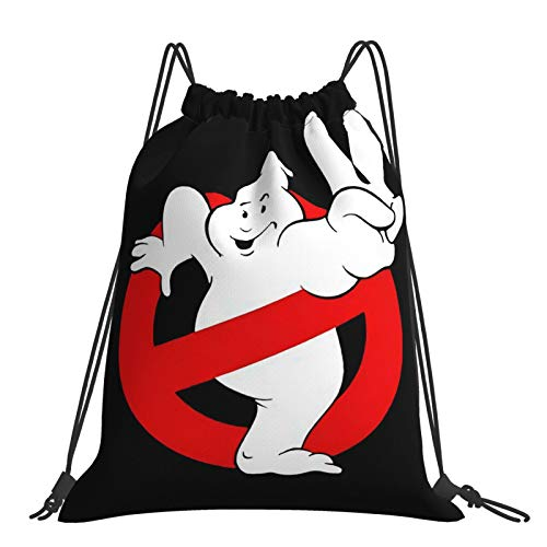 Yoohome Ghost-Busters Turnbeutel Sportbeutel Kordelzug Rucksack Tasche Damen Herren Sackpack Gymbag Drawstring Backpack Kordelzugbeutel Gymnastikbeutel Trainingsbeutel