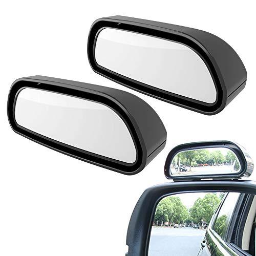 ENGYNC 2 Pack Universal Espejo de Punto Ciego para Coche HD Espejo Auxiliar Retrovisor de Coche Gran ángulo de 360°Para Blind Spot Espejo Retrovisor Coche