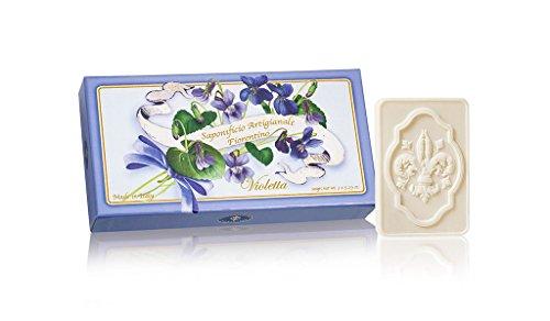 Saponificio Artigianale Fiorentino Violetta sapone, Giglio - 3 saponette da 125 g
