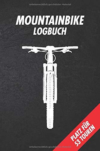 Mountainbike Tourenbuch: Mountainbike Tagebuch zum Ausfüllen | Geschenk für Mountainbiker, Radfahrer und Fahrrad Fans | 109 Seiten im DIN A5 Format
