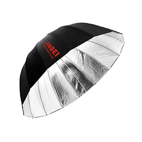 JINBEI アンブレラPro Deep Lサイズ【銀】(130cm)