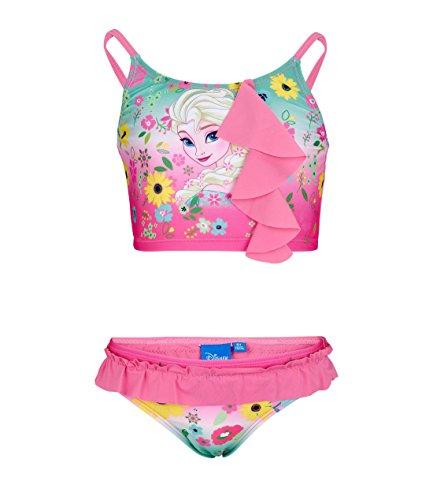 Disney Die Eiskönigin ELSA & Anna Mädchen Bikini - pink - 104