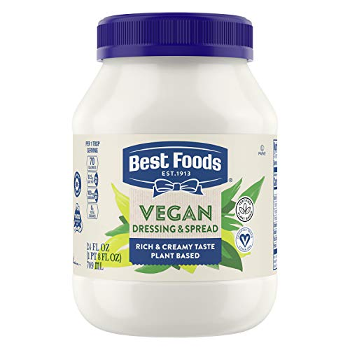 Best Foods Vegan Dressing and Sandwich Spread, 24 oz