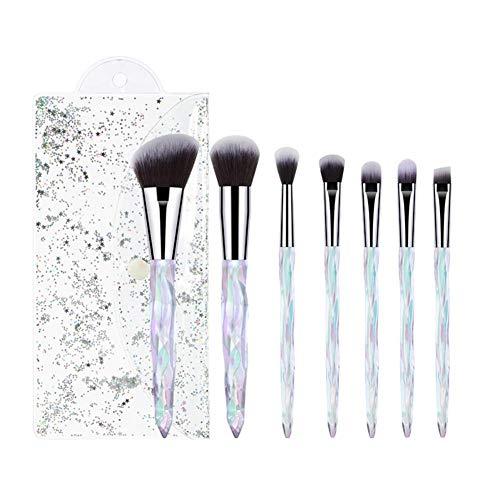 Chytaii. Kit de Pinceau Maquillage Professionnel Fibre Synthétique pour les Poudres, Anticernes, Contours, Fonds de Teints Cosmétique Brush Brosse