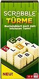 [page_title]-Mattel Games GCW07 Scrabble Türme Wörterspiel, Familienspiel geeignet für 2 - 4 Spieler, Spieldauer ca. 20 Minuten, ab 10 Jahren