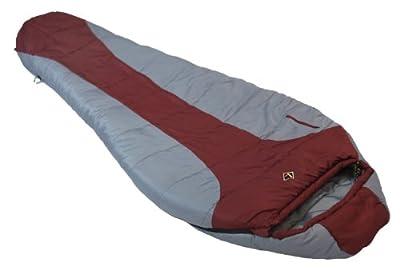 Ledge Sports Featherlite +0 F Degree Ultra Light Design, Ultra Compact Sleeping Bag (84 X 32 X 20, Maroon)