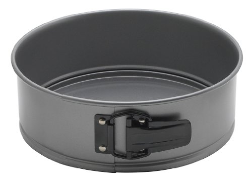 Mrs. Anderson's Baking Springform Pan, Carbon Steel with Quick-Release Non-Stick Coating, PFOA...