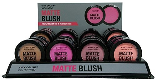 CITY COLOR Cosmetics Matte Blush Ma…