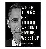 Barack Obama Art - Motivational Quote, 8x10...