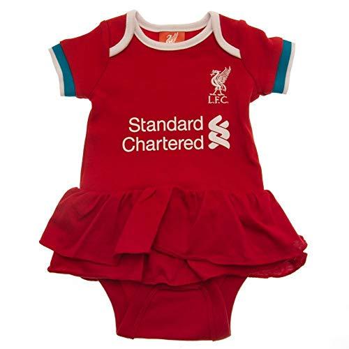 Liverpool FC Body para bebé con tutú rojo / blanco Talla única