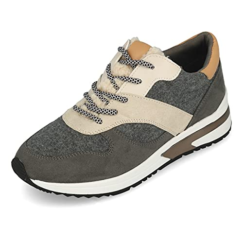 La Strada Zapatillas deportivas., Combinado en gris y multicolor., 40 EU