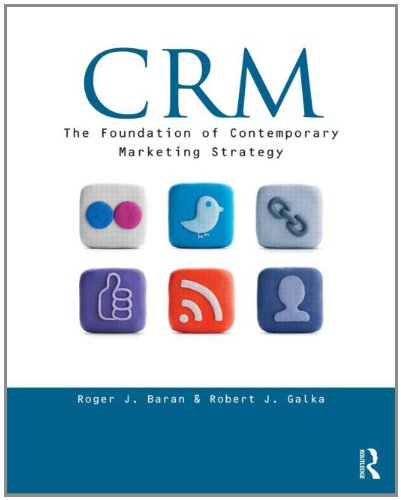 CRM: The Foundation of Contemporary Marketing Strategy