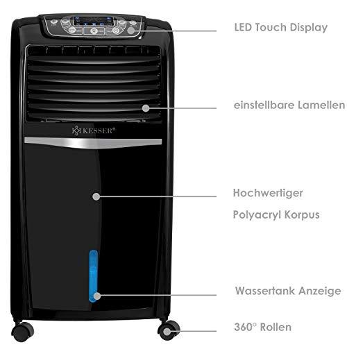Mobile Klimaanlage 8 L Wasser/Eis Tank Ionisator Luftbefeuchter Bild 2*