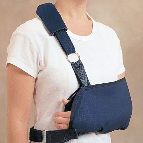 Rolyan Schouder-startonderbreker, grote vaste positie sling brace voor ontspanning, gevoerde draagriem, pijnverlichting voor gewrichts- en spierpijn, luxe & Bone Fracture
