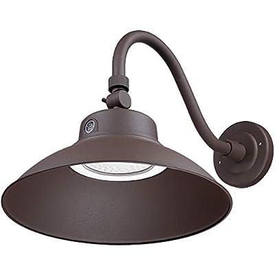 LEONLITE LED Gooseneck Barn Light