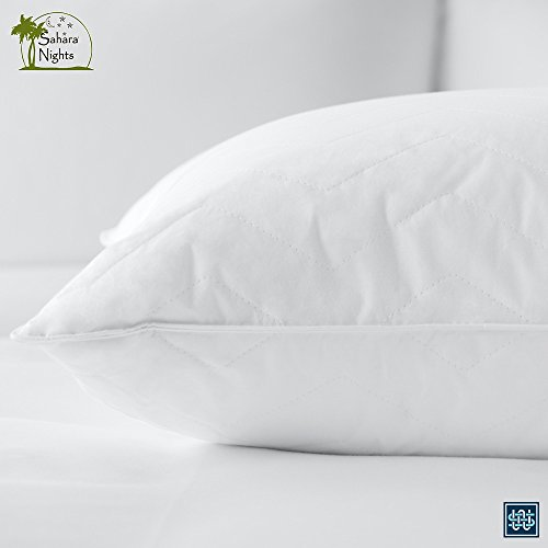 Sahara Nights Pillow: Best Pillow for Back and Stomach Sleepers - Hotel & Resort Quality...