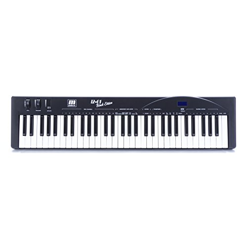 Miditech Keyboard i2 61 black edition, Schwarz, MIT-00134