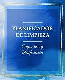 Planificador de Limpieza Organiza y Verificación: Planificador diario semanal para Mamás / Actividades, menú, limpieza / El cuaderno ideal para ... / Libro De Tareas. (versión español)