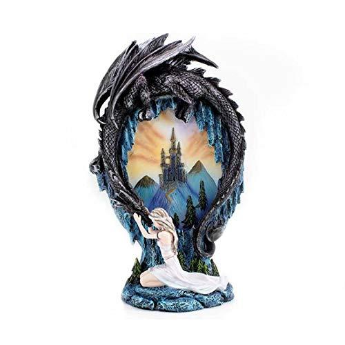 Les Alpes Fata con Drago Muley Art. 042444 Fairy Land