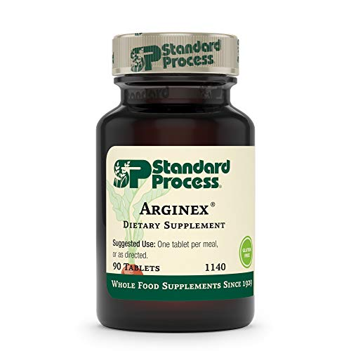 Standard Process Arginex - Whole Food Formula for Body Cleanse Organs - Liver Support and Kidney Health Supplement with Vitamin A, Oat Flour, Buckwheat and Ascorbic Acid - 90 Tablets