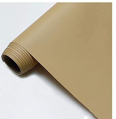 GERYUXA Cuero Cuero Artificial, Utilizado para Decorar y Proteger, Remodelar Muebles Sofáde Polipiel para tapizar, Khaki t7 1.6x5m