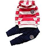The Peanutshell 5 Pack Pants Set for Baby Boys...