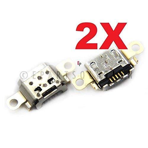 ePartSolution_2X USB Charger Charging Port Dock Connector USB Port for Amazon Kindle Fire 7 SR043KL Replacement Part USA Seller