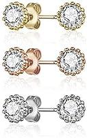 Mestige MSER3209 Women's Crystals Stud Earrings