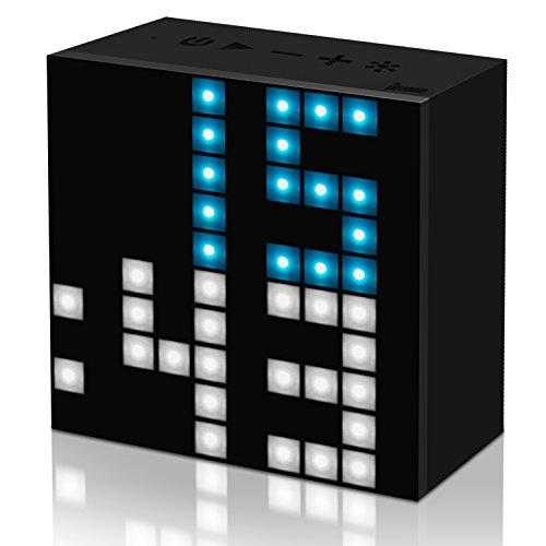 Divoom Aura Box–Altavoz Bluetooth personalizable para teléfono móvil, Apple iPhone (como 6,...