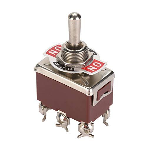 250V 12mm Orificio de montaje 5 piezas Terminal de interruptor de palanca de válvula mecánica para válvula mecánica