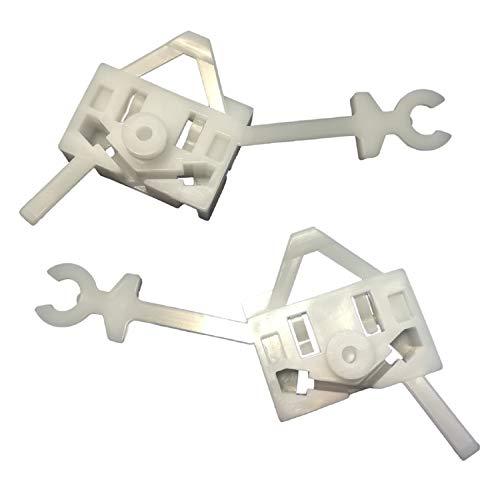 Twowinds - 2X raamheffer reparatieset clips Panda Iveco Euro bus 2003-2012
