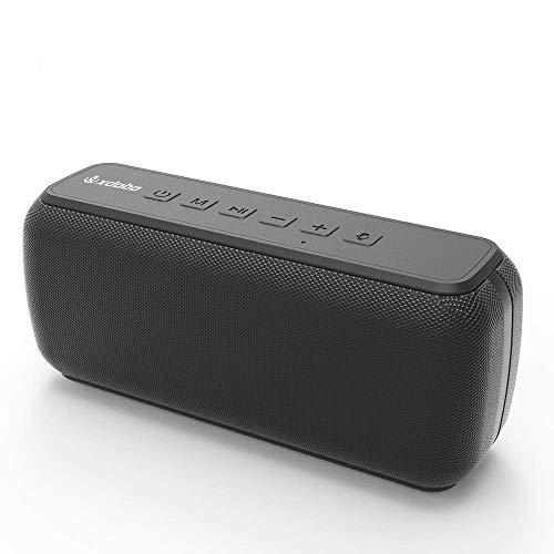 XDOBO X7 50W IPX5 TWS Soporta tarjeta TF/AUX impermeable 360 HD Surround...