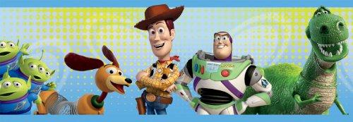 Graham & Brown Selbstklebend-Borte'Toy Story Border' Kollektion Kids@Home IV, mehrfarbig, 42155