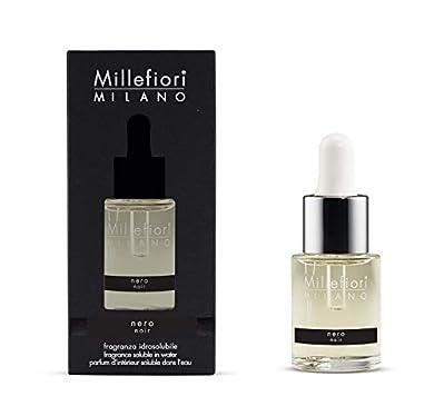 Foto di Millefiori Milano fragranza idrosolubile | 15ml | fragranza Nero | da utilizzare con diffusore di fragranza per ambiente ad ultrasuoni Millefiori Hydro