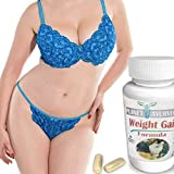 1, 2, 3 or 4 Pack. GAIN Curves. Gain Weight Pills for Women - Planet Ayurveda. Skinny Women gain Weight. Gain Fast...
