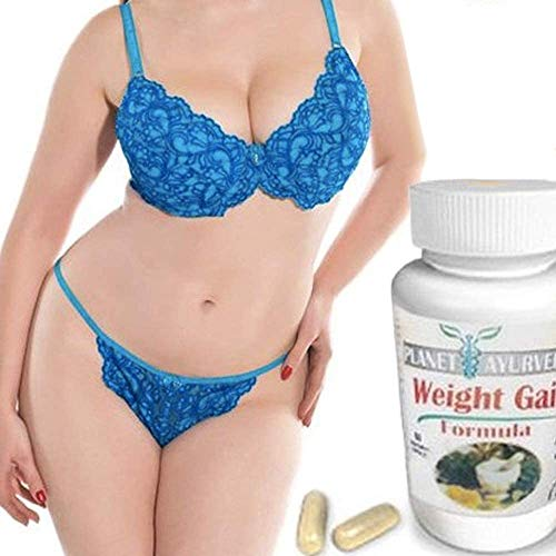 1, 2, 3 or 4 Pack. GAIN Curves. Gain Weight Pills for Women - Planet Ayurveda. Skinny Women gain Weight. Gain Fast Weight for Women. for Hips, Bust and Butt (One Bottle )