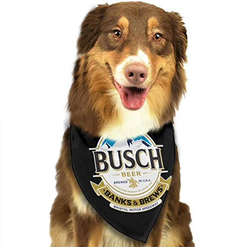Bu-SCH Beer Dog Bandanas Neck Scarf Dog Bib Triangle Kerchief 27.5 X 18 Inch for Dogs Cats Pet Puppy
