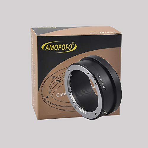 AMOPOFO Adapter Contax/Yashica CY Mount Lens voor Canon EOS R Full Frame Camera