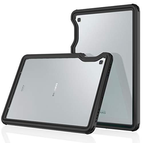 futypei Wasserfeste Hülle für Samsung Galaxy Tab S5e 10.5 SM-720 T725, IP68 Zertifiziert wasserdichte Tasche 360 Grad Stoßfest Schutzhülle mit Displayschutz Staubdicht Outdoor Case