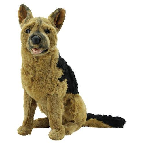 Sweety Toys 0784 Plüschhund Schäferhund XXL Kuscheltier 60 cm