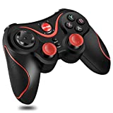 T3- Bluetooth Wireless Game Controller Gamepad Joystick for iOS Android Cellphone Tablet TV Box, Pad, Tablet