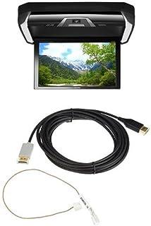 アルパイン(ALPINE) プラズマクラスター技術搭載 12.8型LED WXGAリアビジョン HDMI入力付き PXH12X-R-B(リンクケーブル セット)