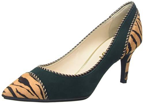 lodi ELEKTRAING, Zapatos de tacón con Punta Cerrada Mujer, Multicolor (Africa Dinka Africa Dinka), 39 EU